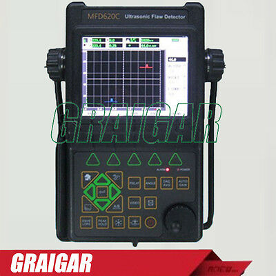 New MFD620C Ultrasonic Flaw Detector with hi-resolution color TFT LCD Display