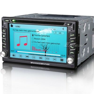 "Sydney Stock Nissan 6.2"" CAR DVD CD Player Stereo Audio 3G GPS RADIO BT 7610CM"