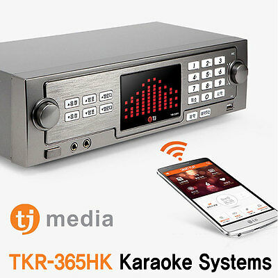 TJ Taijin Media Korea Home HDD Karaoke TKR-365HK Android app TKR-304K follow-up
