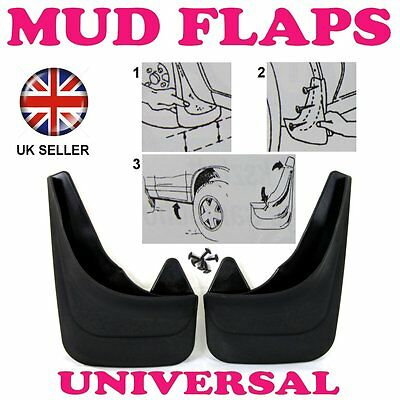 2R RUBBER MOULDED MUDFLAPS 2x MUD FLAPS REAR FOR CHEVROLET LACETTI ORLANDO SPARK