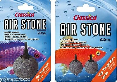 "Classica Ceramic Ball 2"" Airstone Aquarium Diffuser Fish Tank Pond Air Stone"