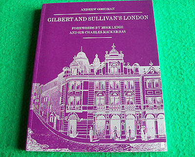 Gilbert and Sullivan's London: Andrew Goodman: New Paperback