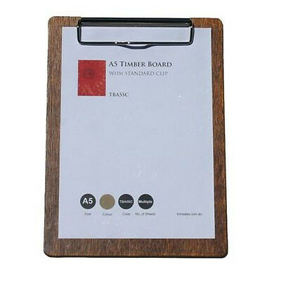 A5 Timber Board withSilver standard Clip