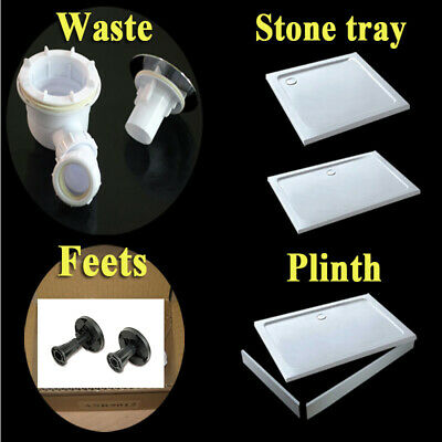 Shower Enclosure Accessories Stone tray /Waste trap/Plinth/feets