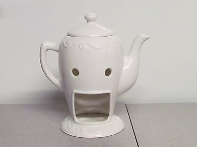 PartyLite Sidewalk Cafe Teapot Aroma Melts Warmer
