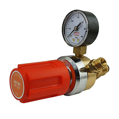 LPG Regulator / Flow Meter - LPG Heating / Welding - 0 - 450 KPA - OXY - UWELD