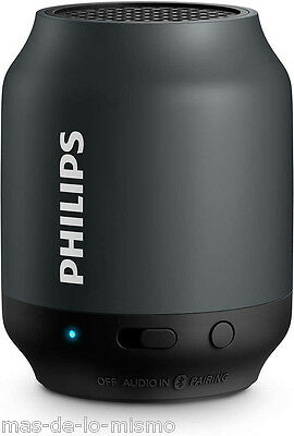 Altavoz Bluetooth Philips BT50B Inalambrico SmartPhone Tablet Aux 3.5mm Bateria