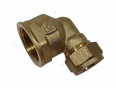 """15mm Compression x 3/4"""" BSP Female Elbow 