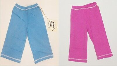 Bebe Fiore Bamboo Cotton Infant Sweat Pant Elastic Waist Character Stitching