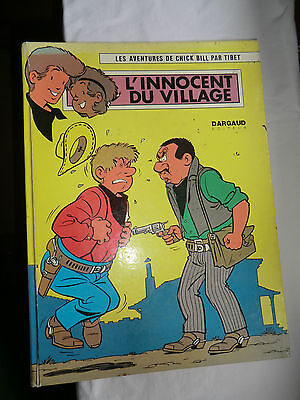 bd - les aventures de chick bill - l'innocent du village - 1973