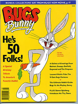 BUGS BUNNY HE'S 50 FOLKS! - Includes animation cell