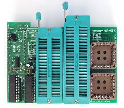 ADP-054 16 Bit EPROM 40/42 pin ZIF adapter for Willem V1.0
