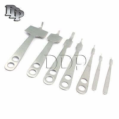 7 Hohmann Retractor Set Surgical Orthopedic Instruments