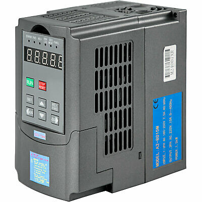 1.5Kw 2Hp Vfd Inverter 7A 220V 1 Or 3 Phase Variable Speed Drive  Drive Inverter