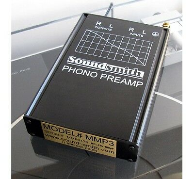 Soundsmith MMP3 flagship hi-end low noise MM Phono Preamp-extrnal power supply