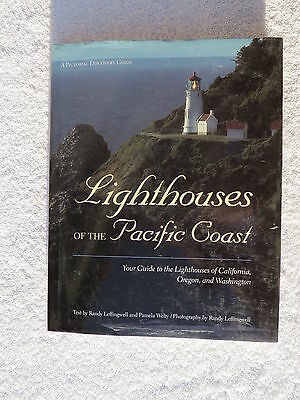 Lighthouses Of The Pacific Coast Book Maritime Nautical Marine (#139)