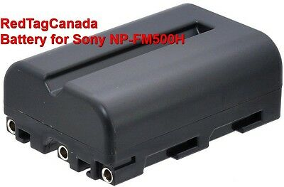 Battery for Sony NP-FM500H A560 A580 A700 A850 A900 2000mAh - Canada