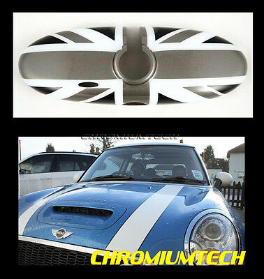 04-13 MINI Cooper/S/ONE/Countryman Rear View MIRROR Cover BLACK UNION JACK R56