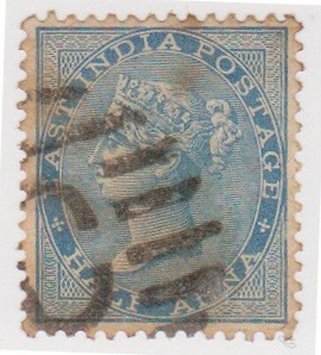 (RM30) 1855 India mix of 5stamps ½A-4A perf &Imperfed