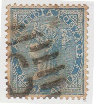 (RM30) 1855 India mix of 5stamps ½A-4A