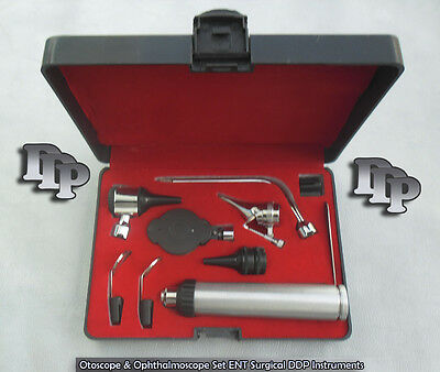 Otoscope & Ophthalmoscope Set ENT Surgical Instruments WIth Beautiful Box