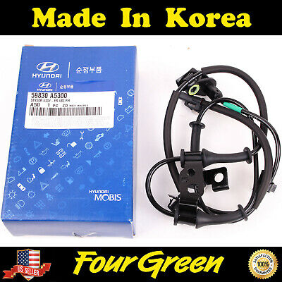 ABS Front Speed Sensor Right for Hyundai 13-16 Elantra 1.8L 2.0L OEM[59830A5300]