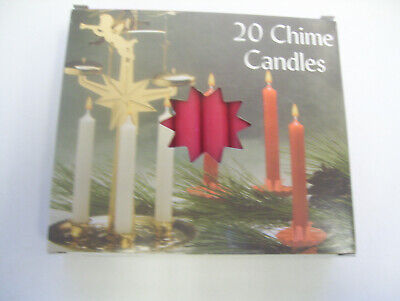 "Lot of 10 Chime Spell Candles: Dark Red, Mini 4"" Wicca, Altar, Ritual"