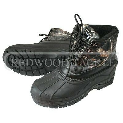 Oakwood Camouflage Field Boot for Fishing Shooting Sizes 8/9/9.5/10