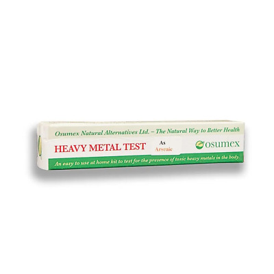 Osumex Arsenic toxicity home kit for poisoning and contamination 1 test