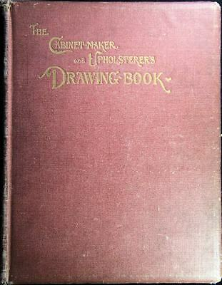 Very Rare 1802 Cabinet-maker Upholsters Drawing guide Furniture Blueprint Book