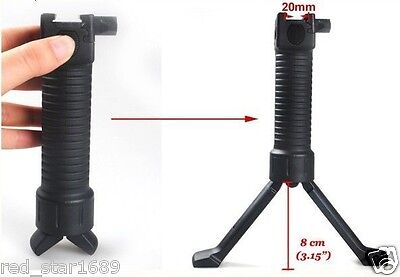 Tactical RIS Foregrip Picattinny Rail Fore Grip  foregrip Bipod 4 Airsoft Rifle