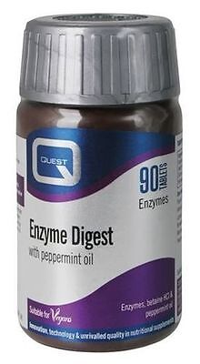 Quest Enzyme Digest Tablets for Digestive Health