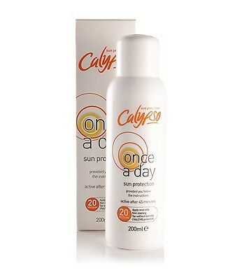 Calypso Once A Day Sun Protection Lotion Large SPF 20 200ml