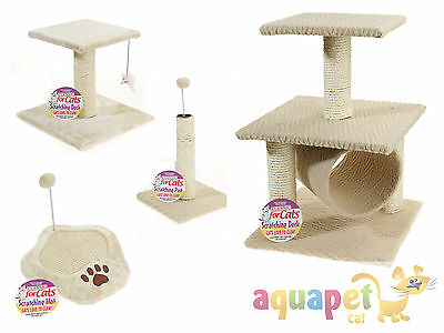 Classic Cat Scratching Post Mat Single, 1 Tier, 2 Tier, Paw Scratching Mat