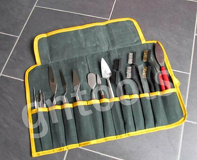 Archaeologist Archaeology Excavation Digging Tool Kit Set Large Canvas Tool Case