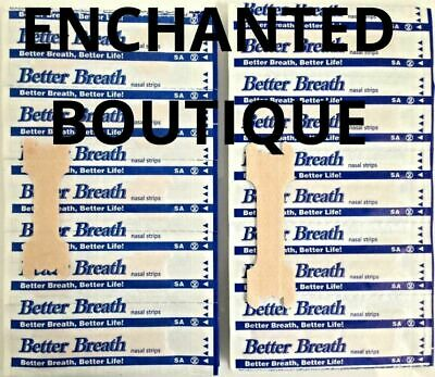 100 + 10 Tan Better Breath Nasal Strips Sm/med Or Large Right Way To Stop Snore