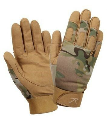 US LIGHTWEIGHT ALL PURPOSE DUTY ARMY GLOVES MULTICAM HANDSCHUHE S / Small