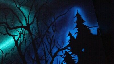 Star Ceiling Glow in the Dark Painting Kit, wall painting, murals space, fantasy