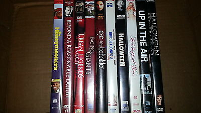 DVD Wholesale Lot Count of 10 G
