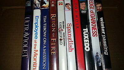 DVD Wholesale Lot Count of 10 J
