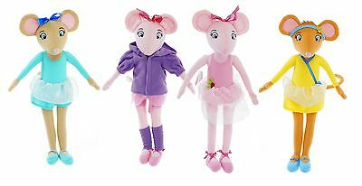 "New Official 17"" Tall Angelina Ballerina Variation Plush Soft Toy Doll Angelina"