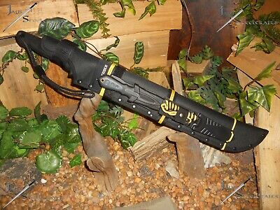 Machete/Sword/Knife/Saw/Spear/Harpoon/Gerber/Zombie/Paracord survival kit /Y/