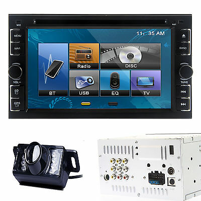 """6.2""""  Touchscreen Double Din Car DVD Mp3 Player Stereo Bluetooth FM/AM Radio+Cam"""