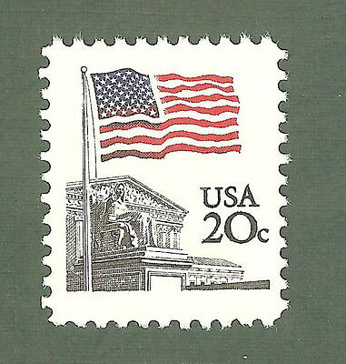 1894 Flag Over Supreme Court US Single Mint/nh FREE SHIPPING