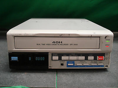 """/""""New in Open Box/""""  VCR Sanyo SRT-2400 Real Time Video Cassette Recorder"""