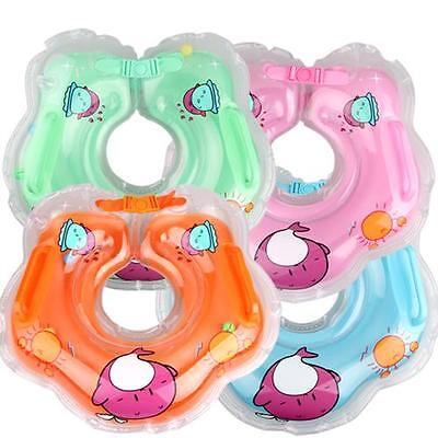 Inflatable Infant/Baby Swimming Neck Safety Aids Bath Swim Pool Beach Float Ring