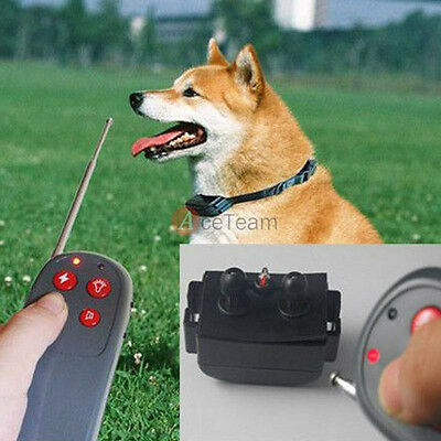 4 in 1 Vibrate Electric Shock pet Dog Training No Bark Collar Remote Control