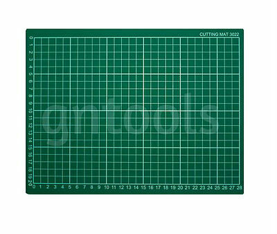 A4 Hobby & Craft Cutting Mat 300mm x 220mm 1cm Square Grid Line For Fast Cutting