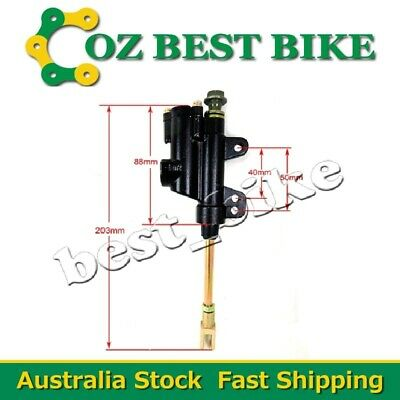 10mm Banjo Rear Brake Hydraulic Master Cylinder ATV Quad Pro Pit Dirt bike Buggy