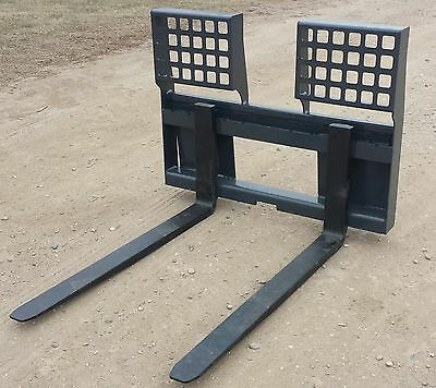 "New 48"" HD 5500 Lb. Pallet Forks *Free Shipping* Skid Loader / Steer Attachment"
